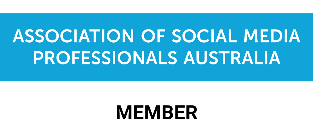 Logo association of social media professionals australia