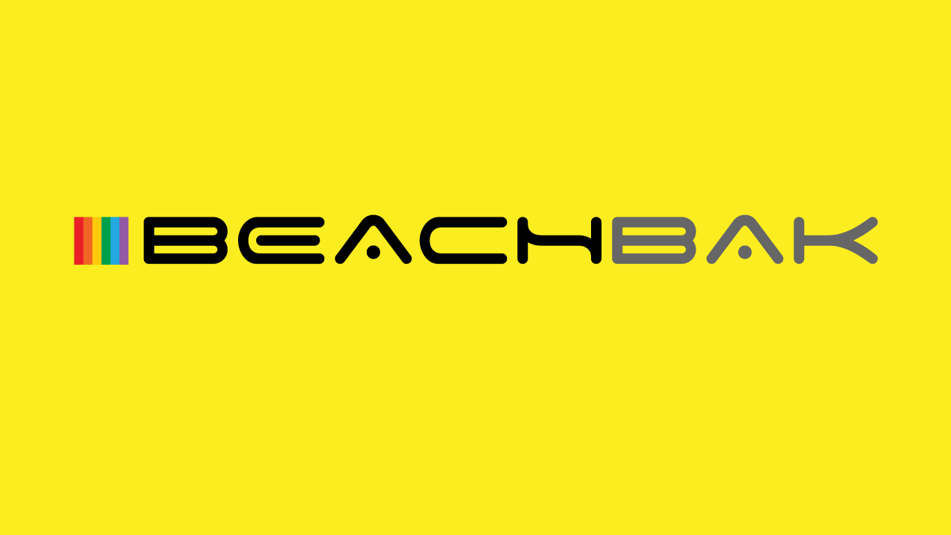 beachbak logo design