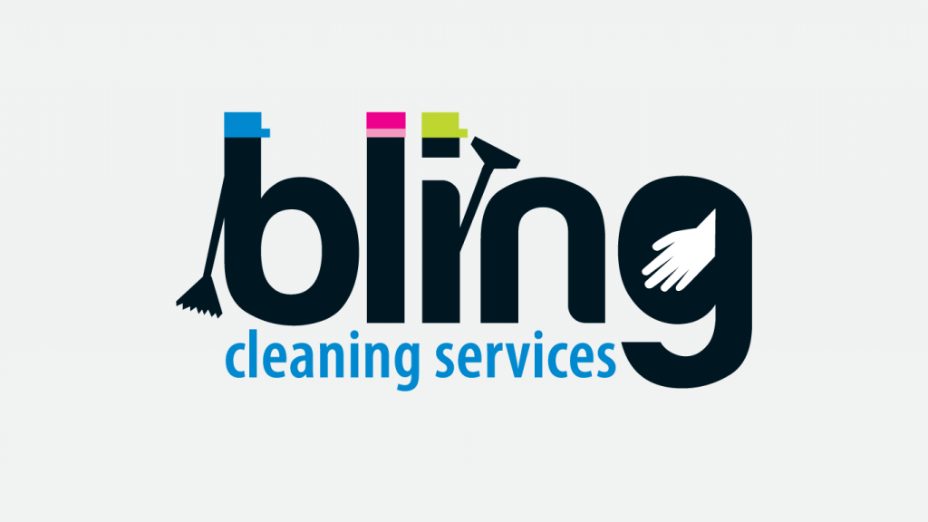 bling cleaning logo