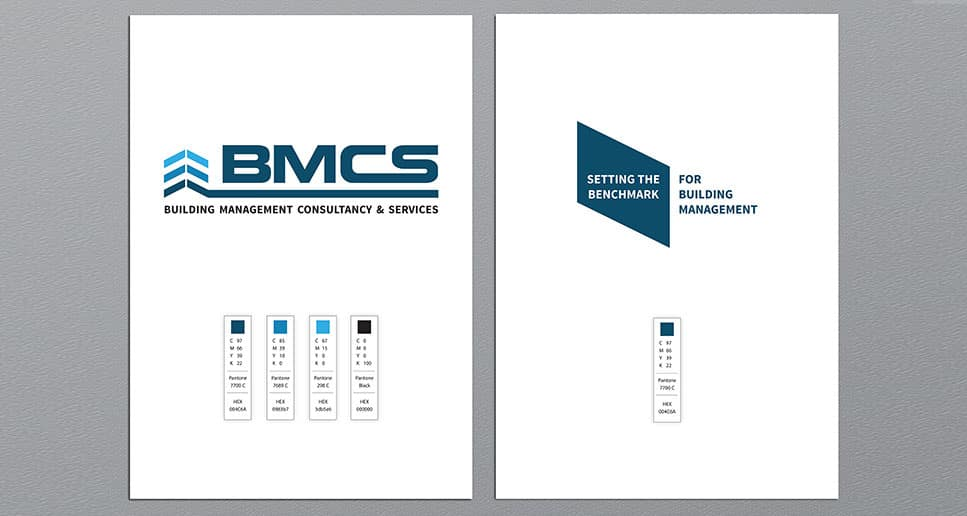 consultant and building management logo colour