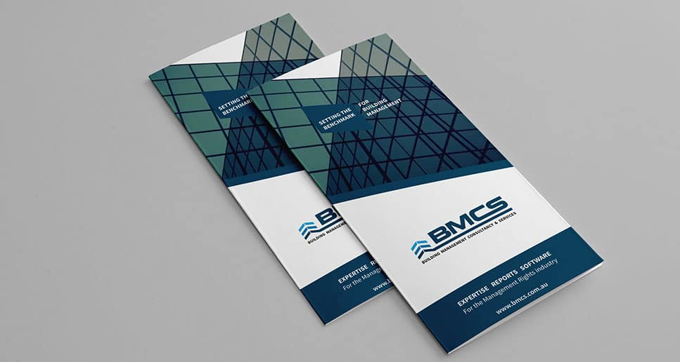 building management brochure design