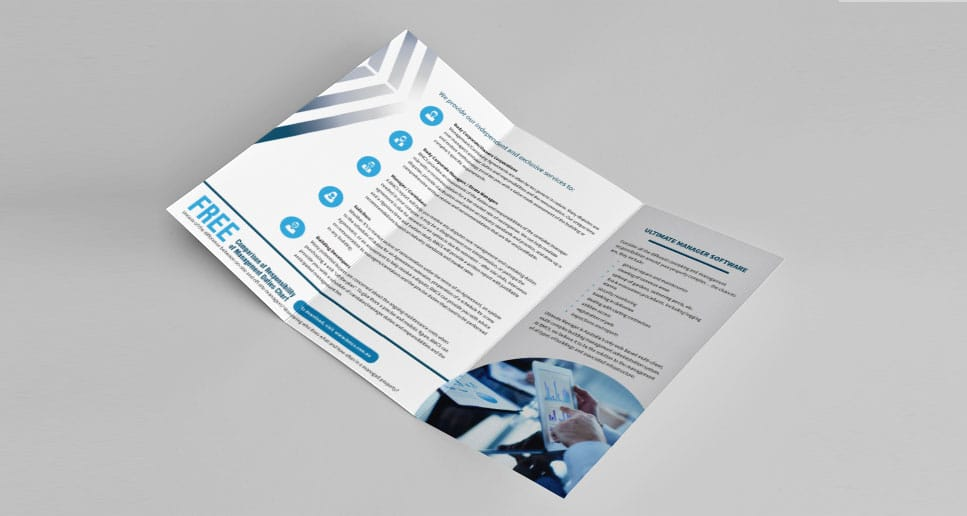 brochure design inside content