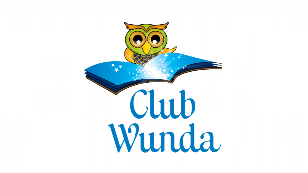 club wunda illustrated logo design