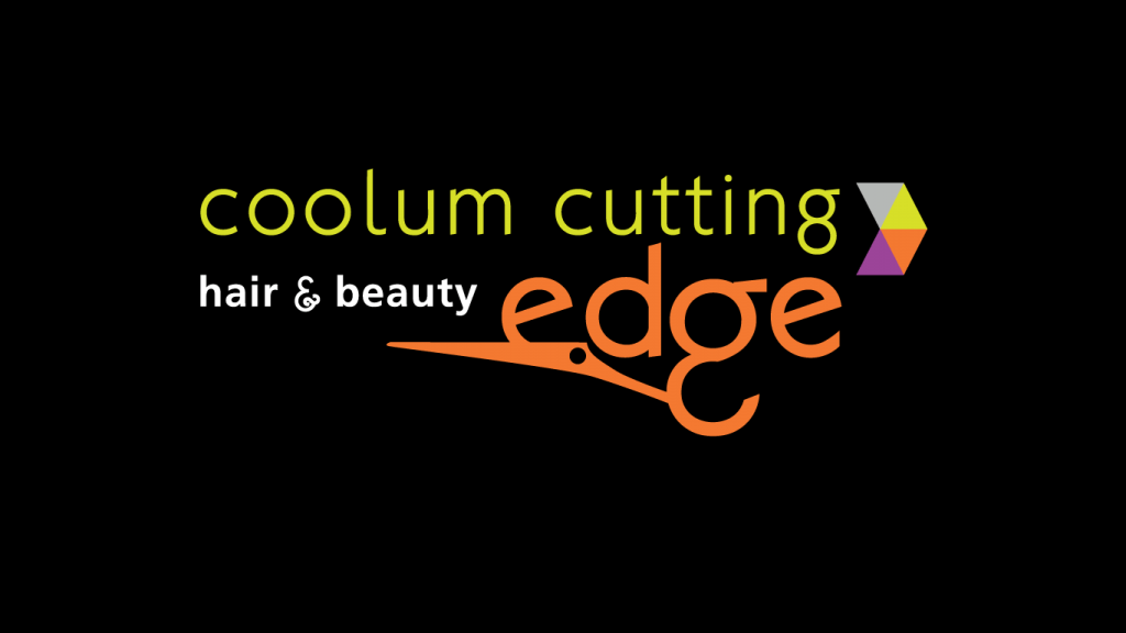 coolum cutting edge hair and beauty logo design