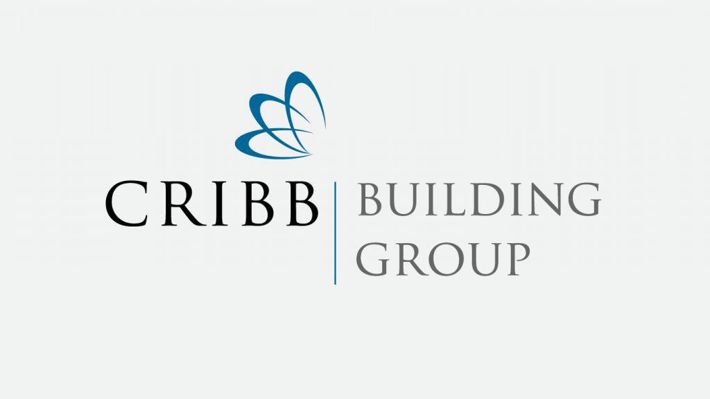 cribb building group logo design