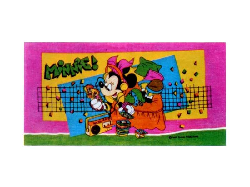 Disney - Minnie rock towel design