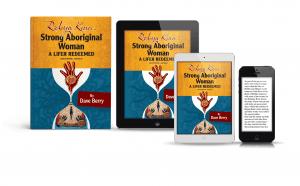 Robyn Kina book sample across print and digital media