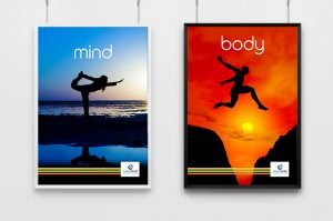 health business mind and body posters