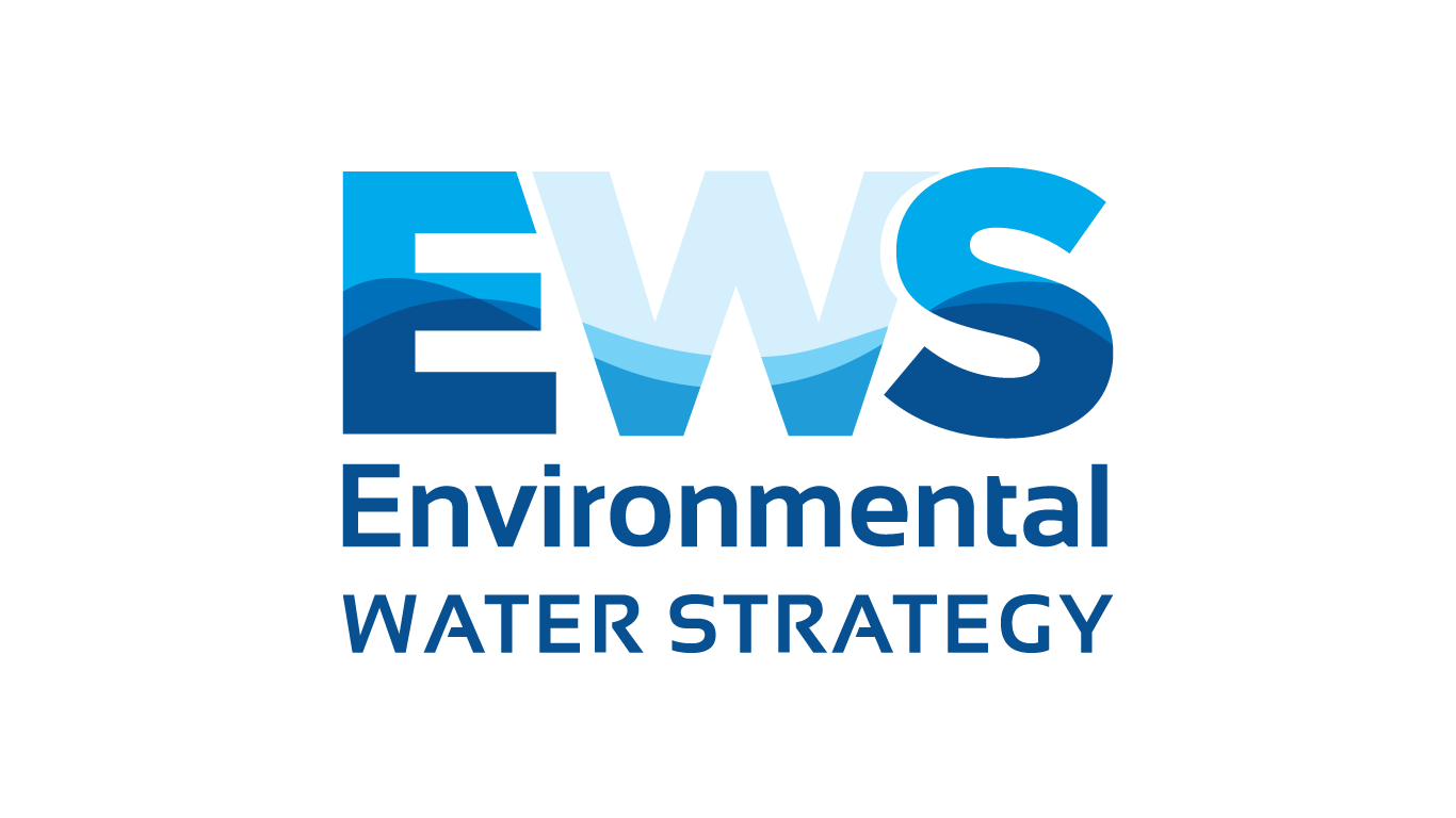 environmental water strategy logo design