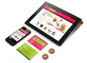 Home Garden Helpers mobile website sample