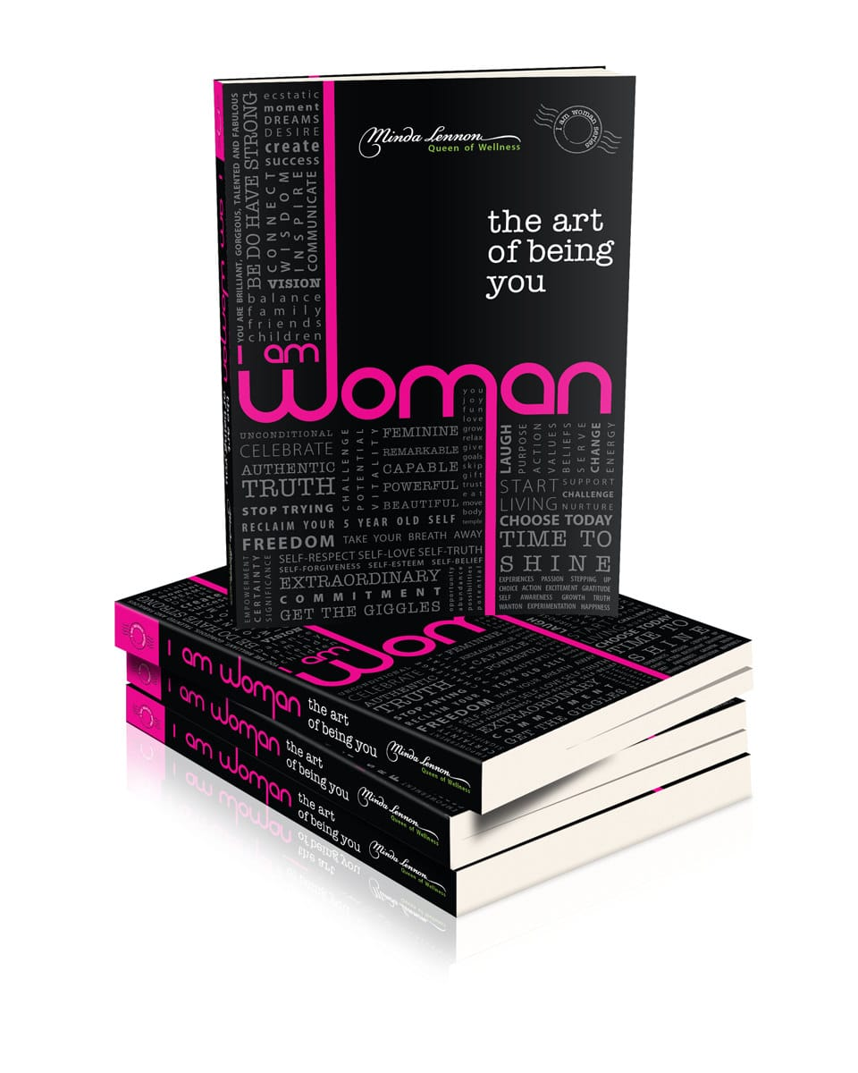I am woman printed book