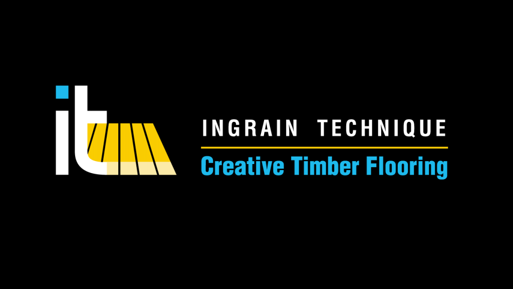 Ingrain Technique Creative Timber Flooring logo design