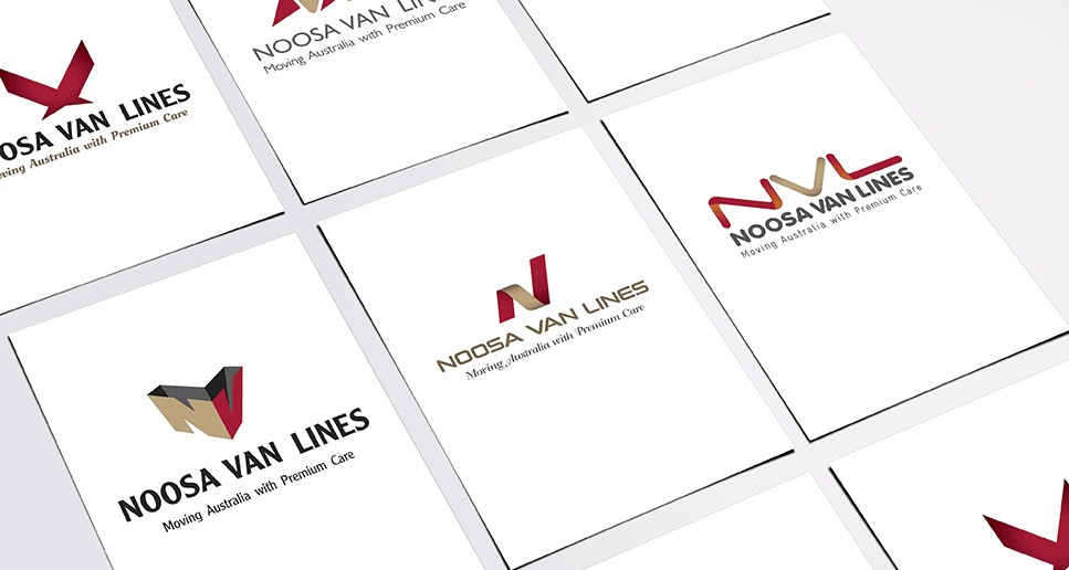 noosa van lines logo options