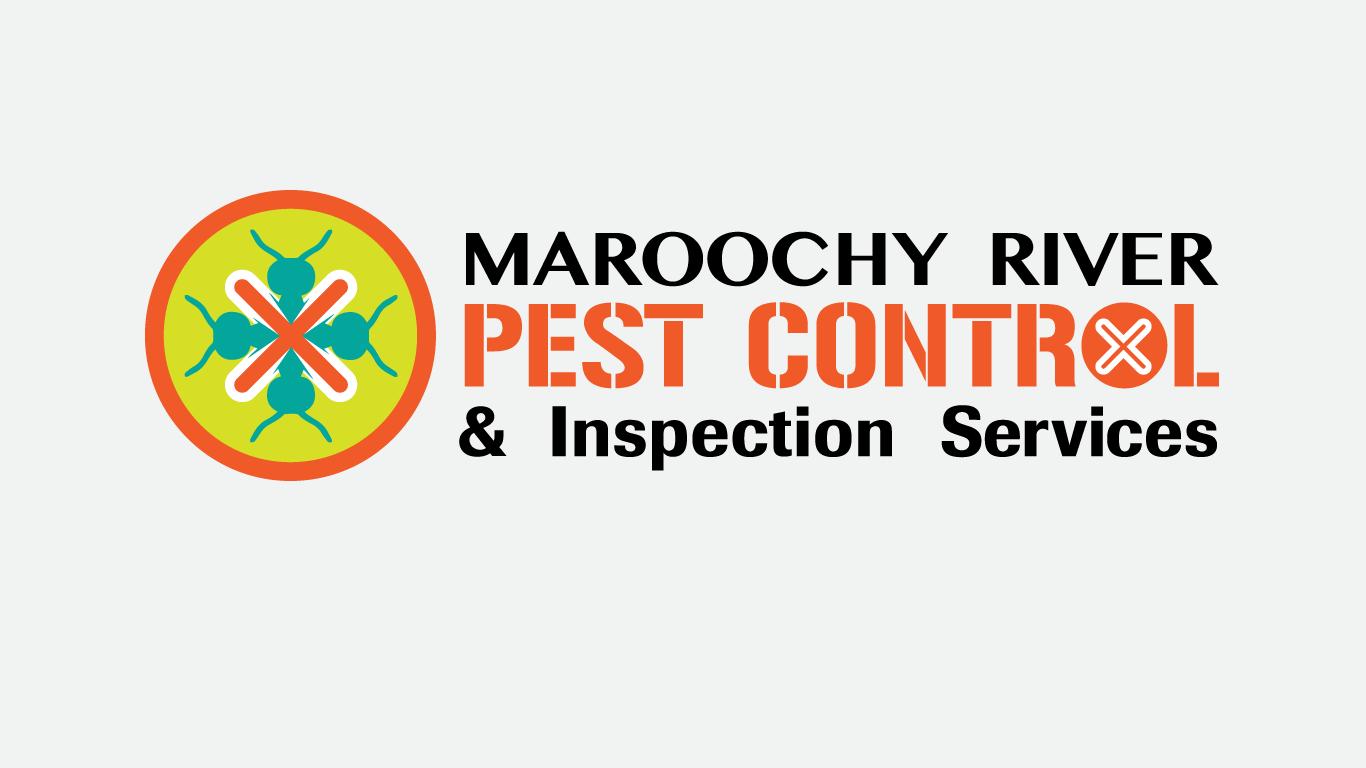 Maroochy River Pest Control logo design