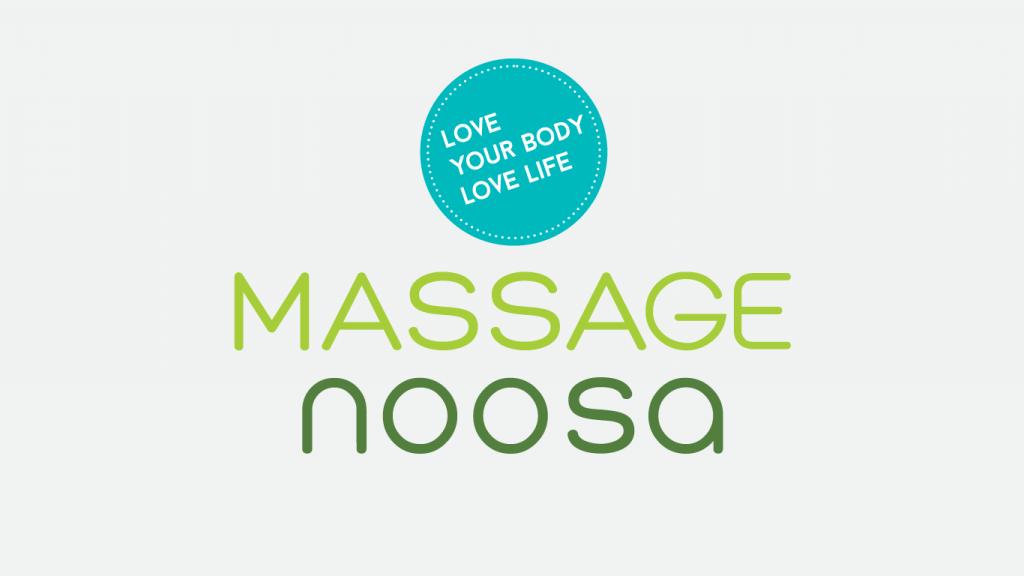 Massage Noosa logo design