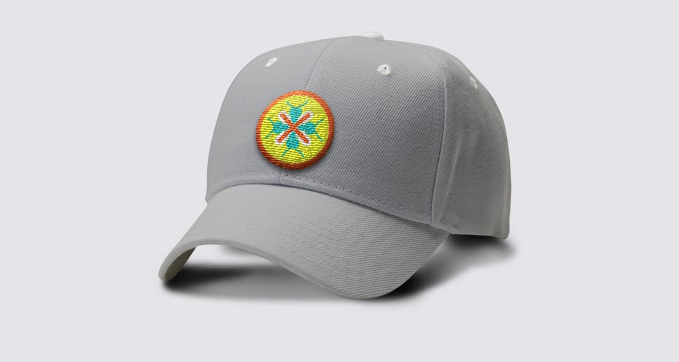 Pest Control branded hat with symbol