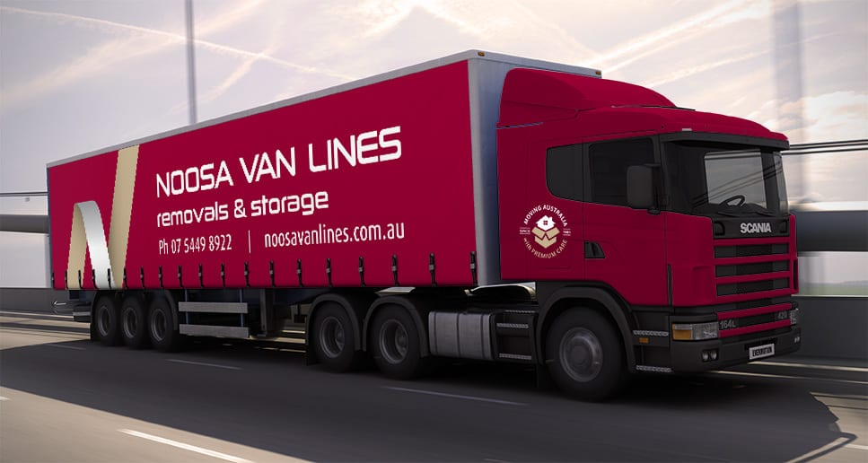 removals truck signage design