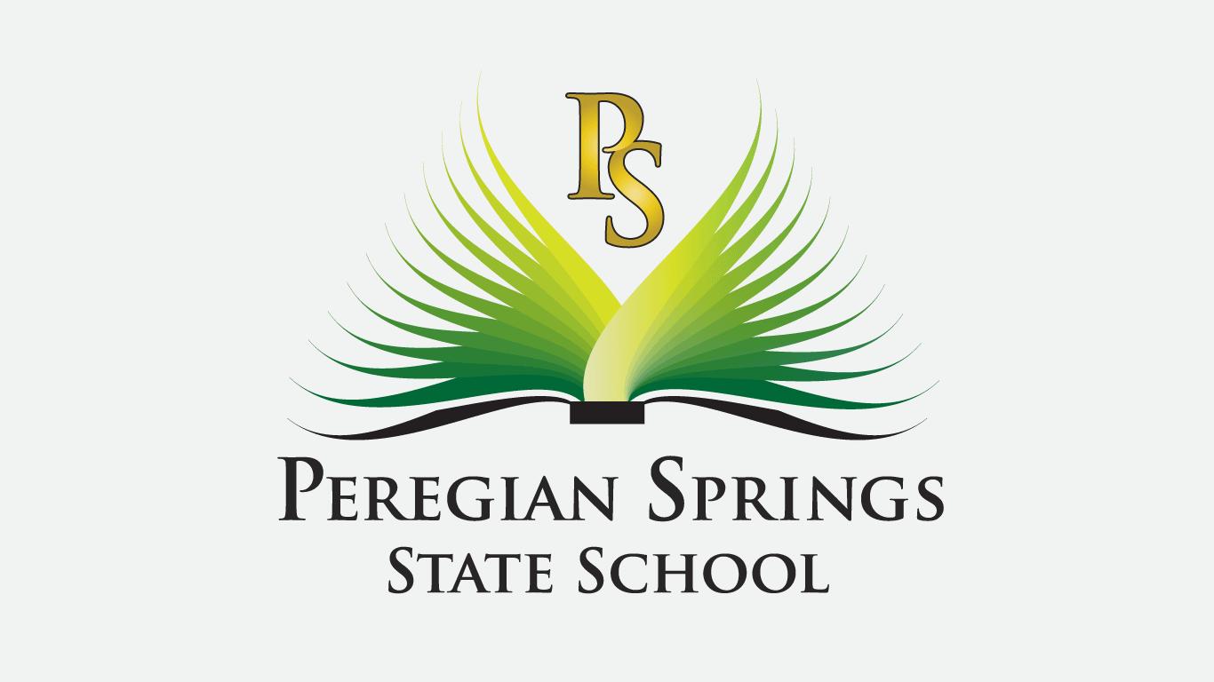 Peregian Springs State School logo design