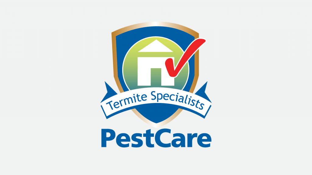 Pest Care Termite Specialists logo design