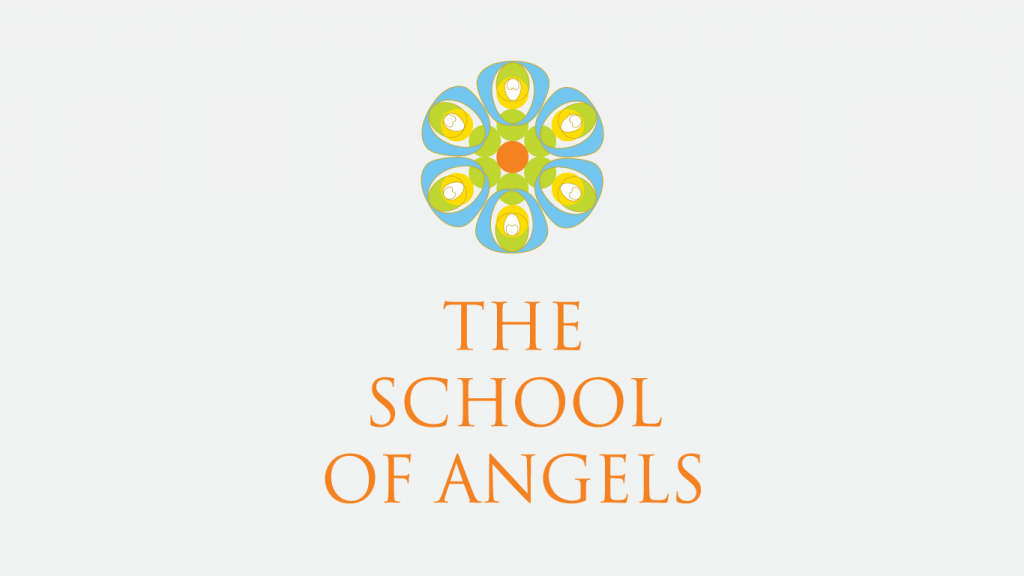 The School of Angels logo design