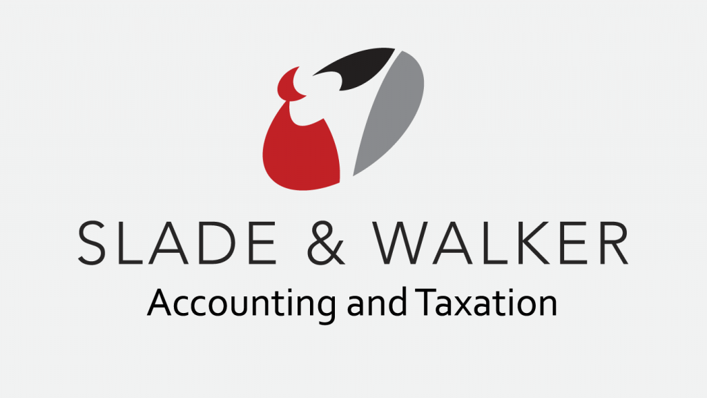 Slade and Walker Accounting and Taxation logo design