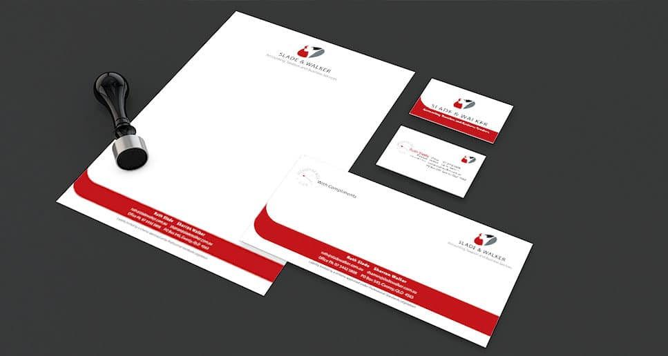 accountants sunshine coast stationery design