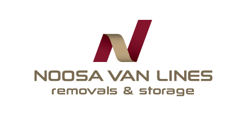 Noosa Van Lines logo over white